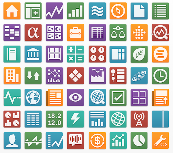 App Library Icons